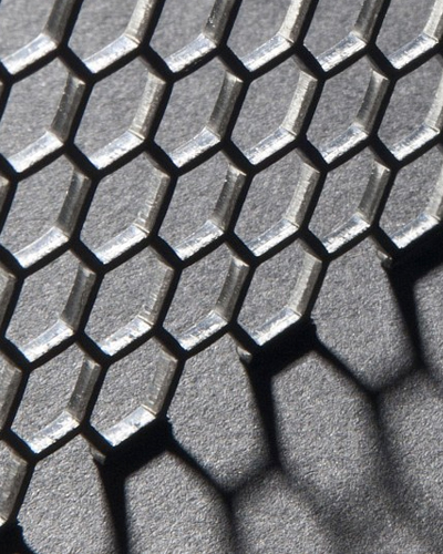 Hexagonal Perforated Sheets